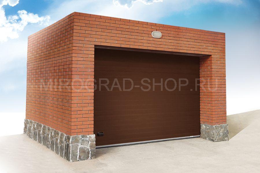 гаражные ворота в астане цены